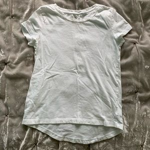 Girls Old Navy High Low Short Sleeve Tee Shirt